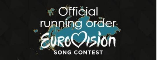 ESC 2017 running order of Semi-finals
