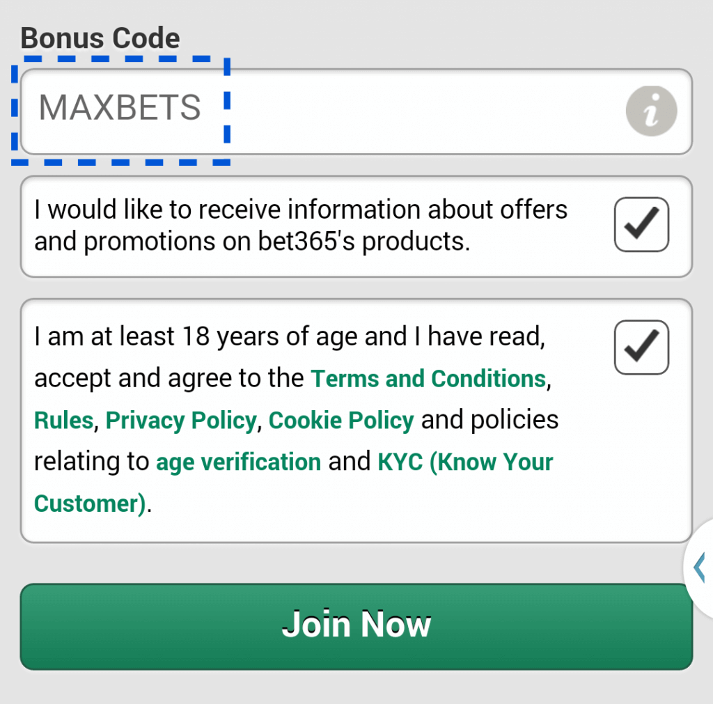 bet365-bonus-code