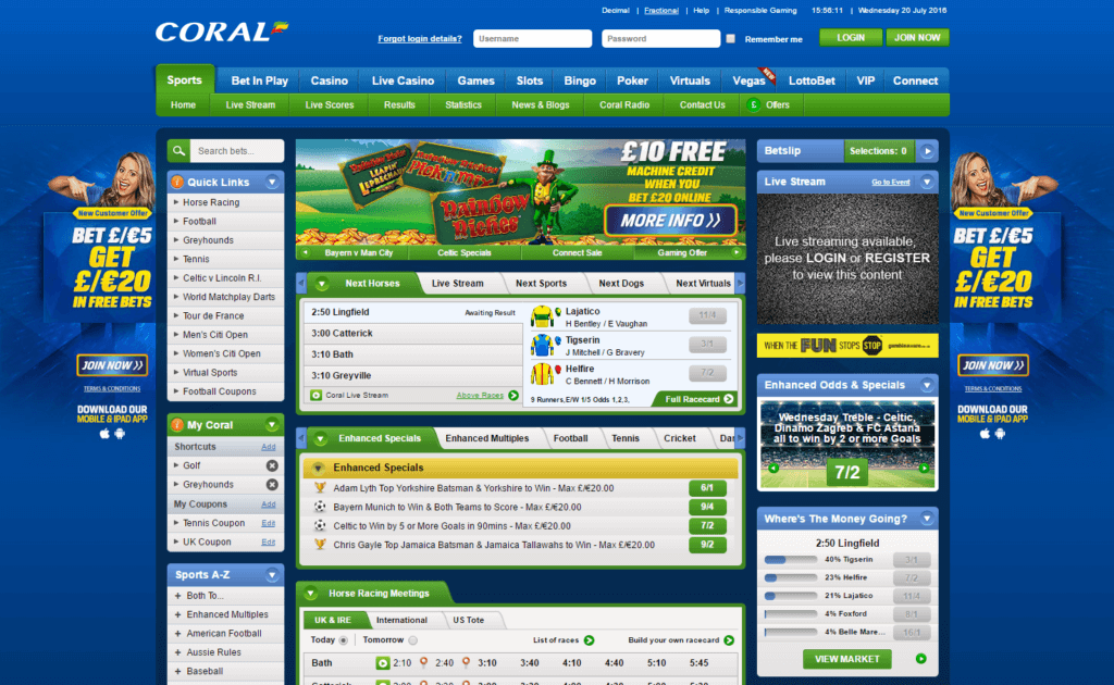 Coral promo code free bet