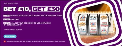betdaq casino bonus