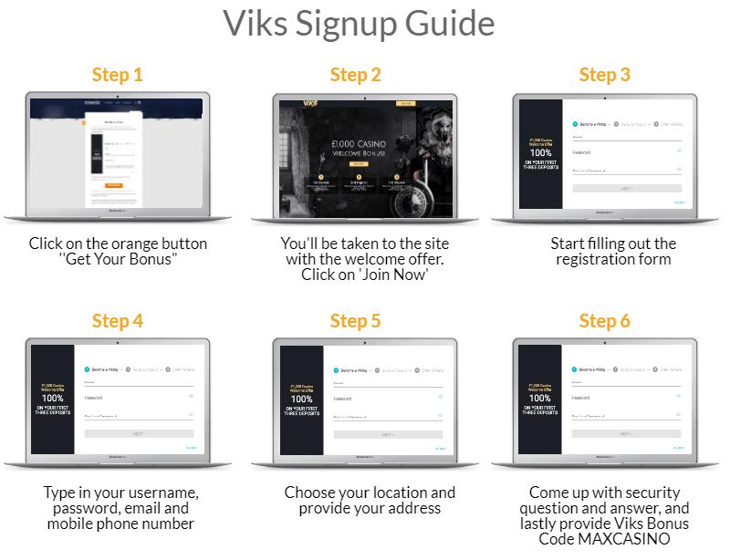 Viks SignUp Guide