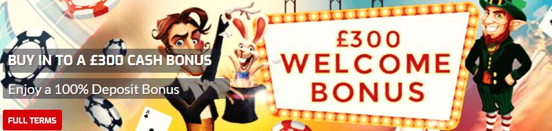 21bet casino offer