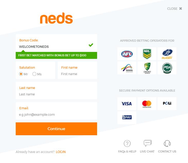 neds register
