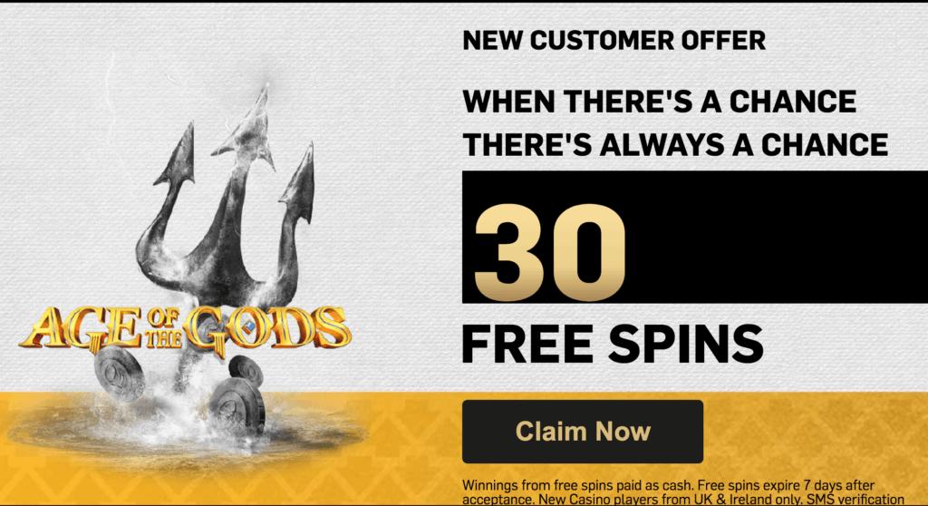 betfair casino offer