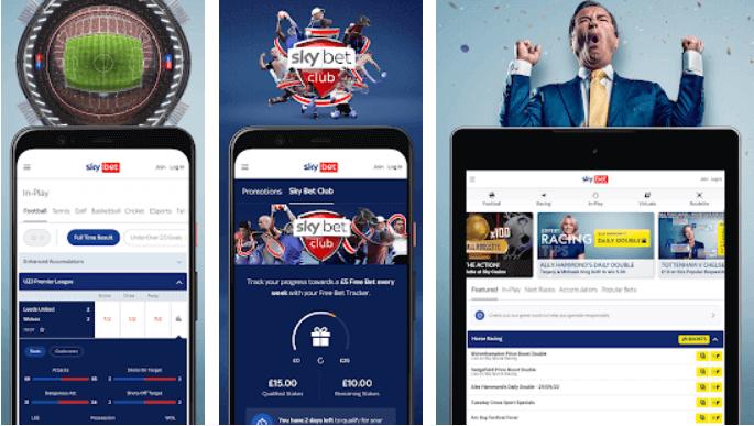 Sky Bet App Store