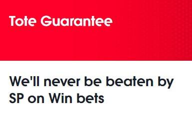 tote garantee risk free bet