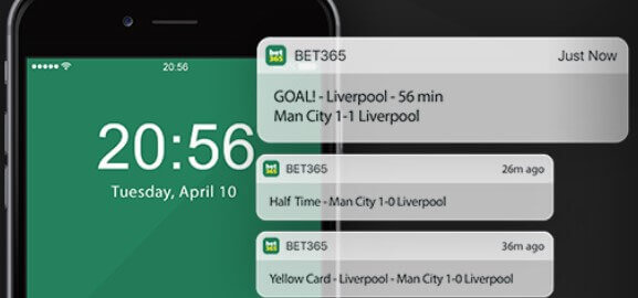 bet365 in play betting & streaming