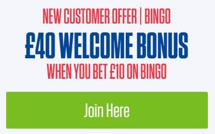 coral bingo new customer offer
