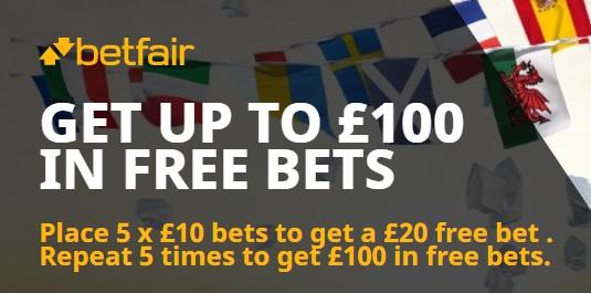 Betfair Sports Betting Bonus
