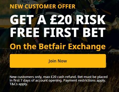 betfair betting exchange offer
